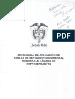 Manual de Aplicacion Tablas de Retencion Dctal