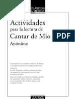 Actividades Mio Cid