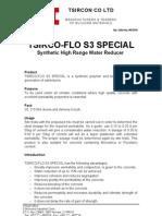 Tsirco-flo s3 Special