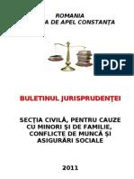 Buletinul Jurisprudentei Civil 2011