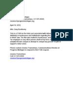 FOIA Letter