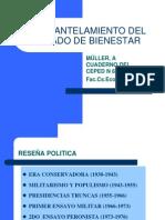 """Muller, A """"Desmantelamiento del Estado de Bienestar en la Argentina"""" Cap 3 y 4"""