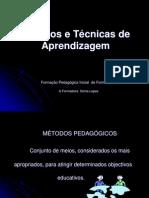 Metodos e Tecnicas Pedagogicos
