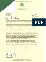 Aidan Burley MP's letter to Biffa