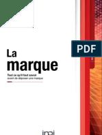 Brochure Marque