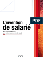Brochure Invention Salarie