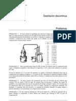 Problemas de Destilacion Diferencial