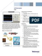 MDO4000 Mixed Domain Oscilloscope Datasheet 5