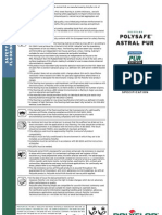 Polysafe Astral PUR Product Spec