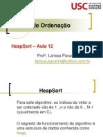 Aula 12 Metodos de Ordenacao HeapSort