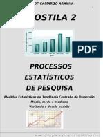 Apostila 2 Processos Est de Pesq CONT Med Tend Central