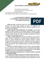 Fundamentele Teoretico-metodologice Ale Analizei Economico-financiare
