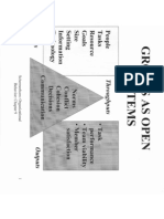Groups as Open Systems