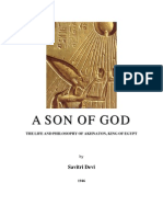 A Son of God. The Life and Philosophy of Akhnaton, King of Egypt, by Savitri Devi