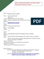 Execucao Associacao Cachoeira 2 Instancia Agravo 2013