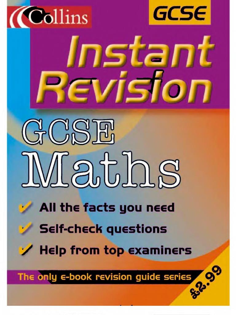 General Mathematics IGCSE Past Paper Questions Classified according ...