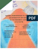 Yom Iyun 2013 Art Exhibit PDF