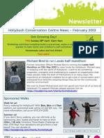 Hollybush Newsletter April 2013