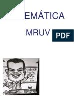 MRU e MRUV