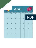 Abril y Mayo