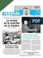 Juventud Rebelde 20 de Diciembre 2009