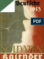 Deutscher Soldatenkalender 1953