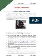 HCS90 Cone Crusher