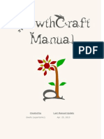 GrowthCraft Manual