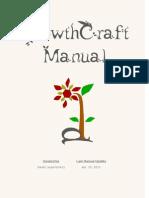 GrowthCraft Manual