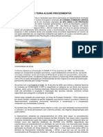 MOVIMENTAÇÃO DE TERRA ALGUNS PROCEDIMENTOS