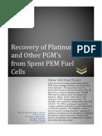 Platinum Recovery