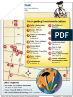 Spring Art Walk Map