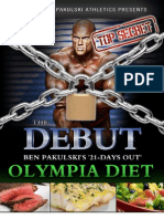 The Debut Olympia Diet