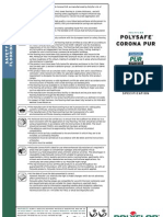Polysafe Corona PUR Product Spec