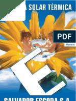 Manual Técnico de Energia solar térmica