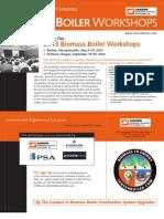 Biomass Boiler Workshops