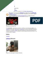 Motocicleta Historia