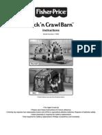 Fisher Price Kick Crawl Barn