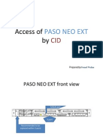 Access of Paso Neo Ext