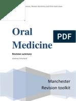 dental Oral Medicine Revision Tool
