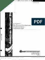 IEEE_C29.2_1992 Insulators (Porcelain and Glass) Suspension Type