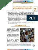 2-GENERALIDADES Y CONCEPTOS BASICOS SOBRE PRODUCCIÓN Y OPERACIONES