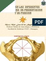 Variedades de posición de la presentación