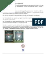 6 - Interruptores magnetotérmicos de potencia.