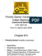 Priority Sector Advances in Indian Banking
