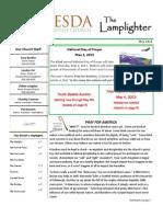 May 2013 Lamplighter