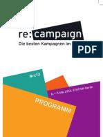 rc13 | Programm