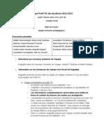 Compte rendu Profil TIC (2013-02-07) Équipe scénarios