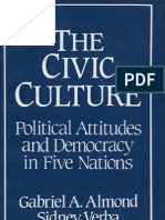 ALMOND; VERBA. the Civic Culture - Political Attitudes and Democracy in Five Nations