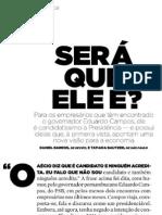 Eduardo Campos na Exame